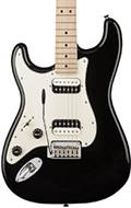 Squier Contemporary Stratocaster HH Maple Fingerboard Black Metallic LH