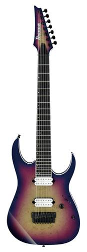 Ibanez RGIX7FDLB-NLB Iron Label 7 String Northern Lights Burst