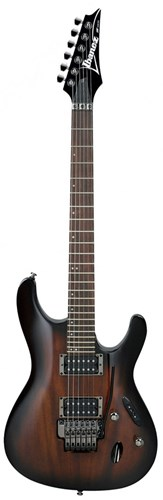 Ibanez S520-TKS Transparent Black Sunburst
