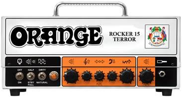 Orange Rocker 15 Terror Head