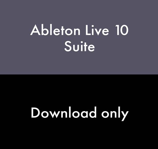 Ableton Live 10 Suite (Download, serial number only)