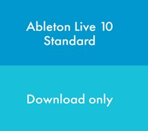 Ableton Live 10 Standard (Download, serial number only)