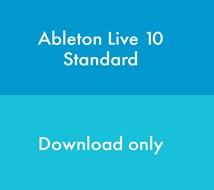 Ableton Live 10 Standard (Download, serial number only)