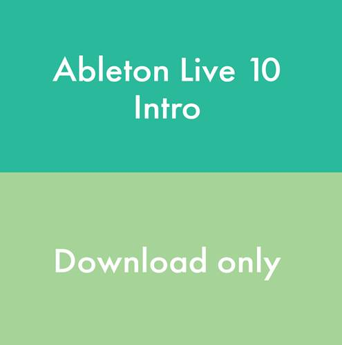 Ableton Live 10 Intro - Download, serial number only