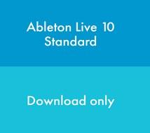 Ableton Live 10 Standard Education (Download, serial number only)