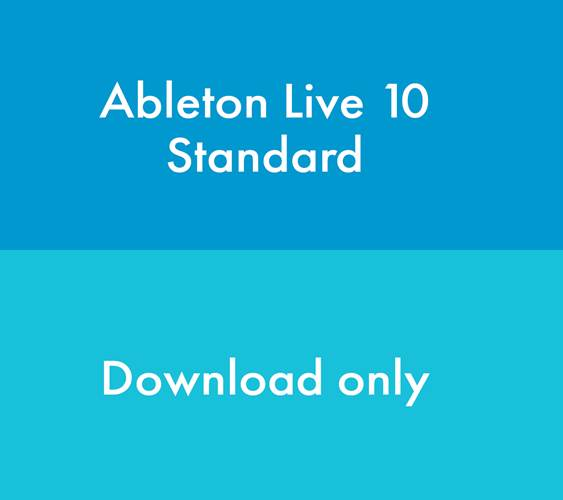 Ableton Live 10 Standard Upgrade from Live Intro  (Download, serial number only)