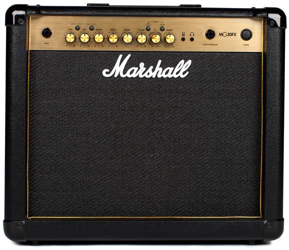 Marshall MG30GFX 30 Watt Guitar Combo Black and Gold