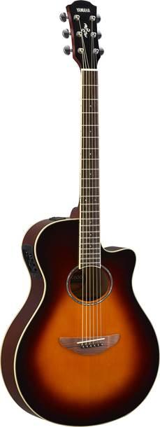 Yamaha APX600OVS Old Violin Sunburst