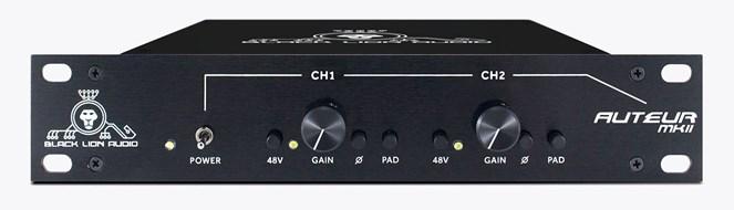 Black Lion Auteur Mk2 Two-Channel Preamp