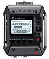 Zoom F1-LP Field Recorder with Shotgun Mic