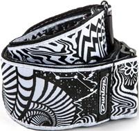 Dunlop ILD02 I Love Dust Strap Vortex Black/White