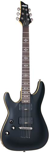 Schecter Demon-6 Aged Black Satin Left Handed
