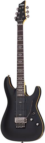 Schecter Demon 6 FR Aged Black Satin