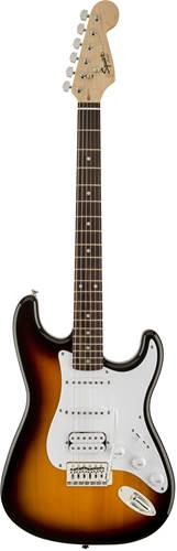 Squier Bullet Strat with Tremolo HSS Brown Sunburst