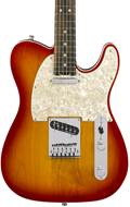 Fender American Elite Telecaster Aged Cherry Burst Ebony
