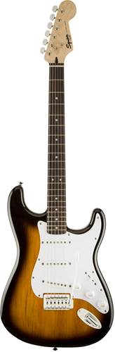 Squier Bullet Strat with Trem Brown Sunburst IL Electric Guitar