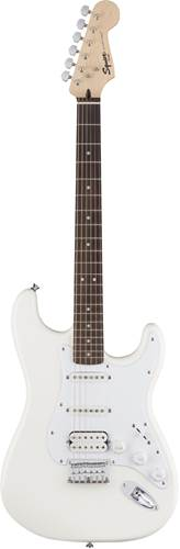 Squier Bullet Strat HSS Hardtail Arctic White Indian Laurel Fingerboard