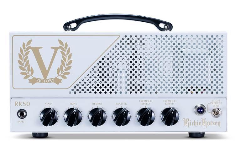 Victory Amps RK50H Richie Kotzen Head