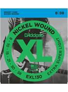 D'Addario EXL130 Extra Super Light 8-38