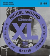 D'Addario EXL115 Blues/Jazz Rock Electric 11-49