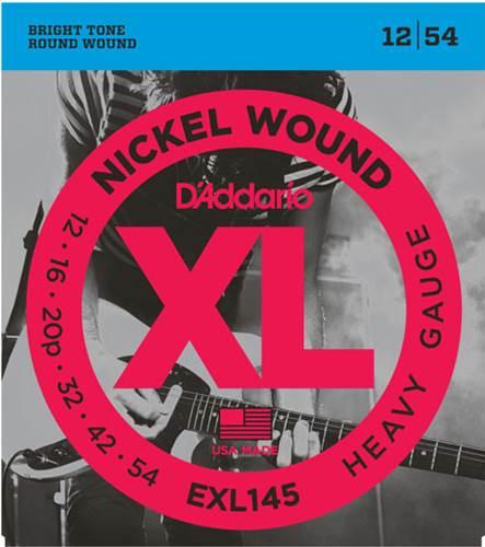 D'Addario EXL145 Heavy Electric 12-54
