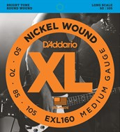D'Addario EXL160 Bass Strings 50-105 Set