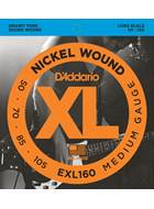 D'Addario EXL160 Bass Strings 50-105 Set