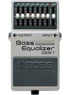 BOSS GEB-7 Bass Equalizer - 7 Band