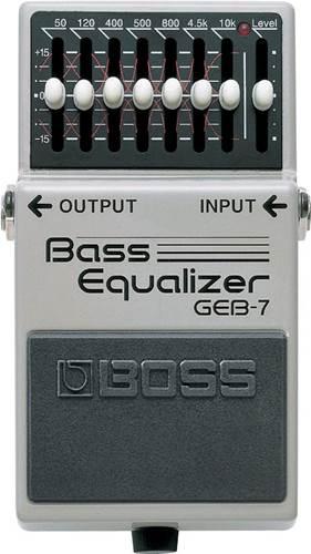 BOSS GEB-7 Bass Equalizer - 7 Band