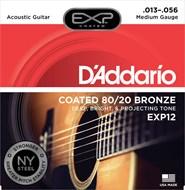 D'Addario EXP12  Acoustic Strings - 13-56