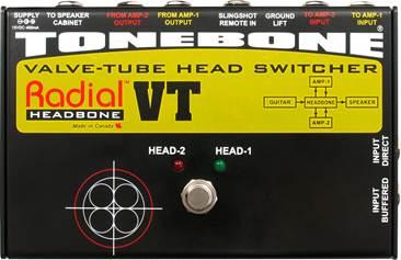 Radial Headbone VT Amp Head Switcher