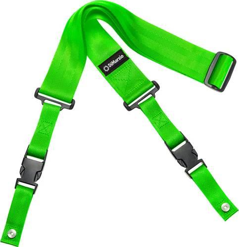 DiMarzio DD2200GN ClipLock Strap Nylon Neon Green
