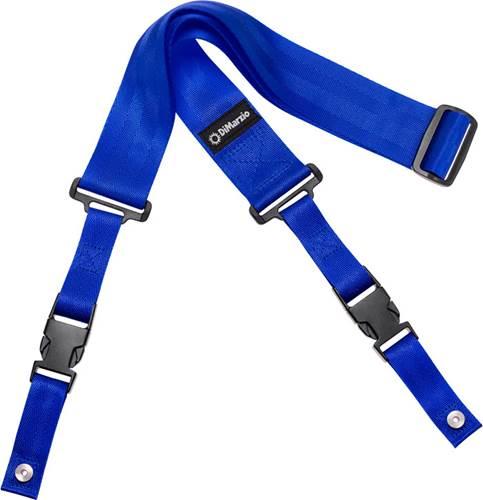 DiMarzio DD2200BL ClipLock Strap Nylon Blue