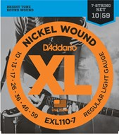 D'Addario EXL110-7 D'Addario XL Regular Light 7 String 10-59