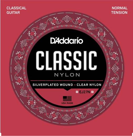 D'Addario EJ27N Classical Strings Nylon