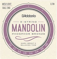 D'Addario EJ70 Mandolin Ball End