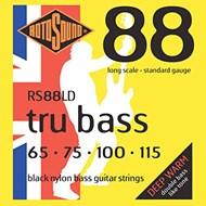 Rotosound Tru Bass Flatwound Black Coated Set