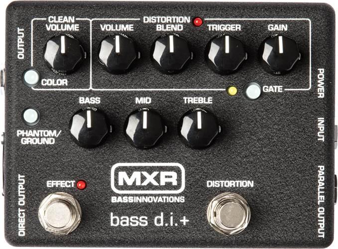 MXR Bass D.I. M80 Pre-Amplifier