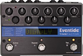 Eventide Time Factor Twin Delay Stompbox