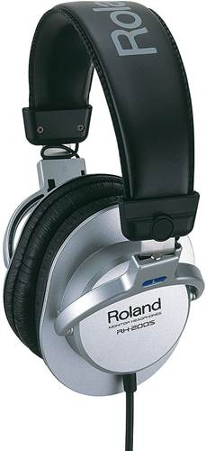 Roland RH200S Stereo Headphones Silver