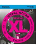 D'Addario EXL170S 45-100 Short Scale Nickel Wound