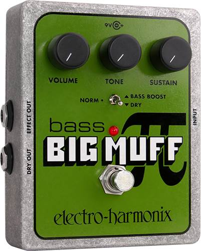 Electro Harmonix Bass Big Muff Pi Overdrive/Distortion