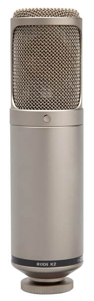Rode K2 Precision Variable Pattern Dual 1 Condenser Valve Microphone