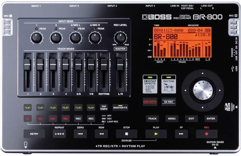 BOSS BR-800  Digital Recording