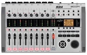 Zoom R24 Interface Recorder Sampler Controller