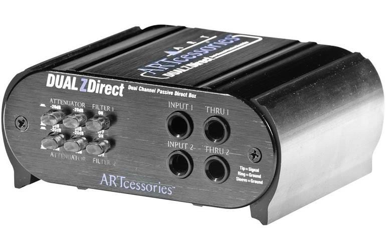 Art Dual Z Direct Stereo Passive DI Box