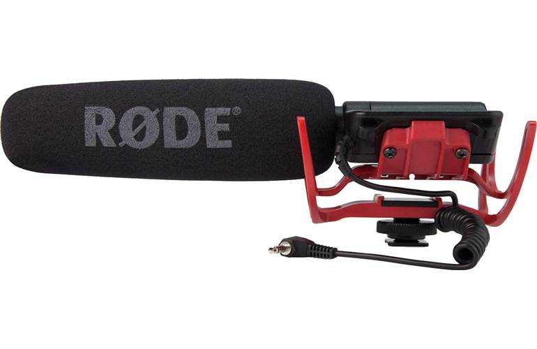 Rode VideoMic with Rycote Lyre Shockmount