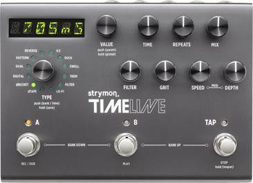 Strymon Timeline Multi Delay and Looper Pedal