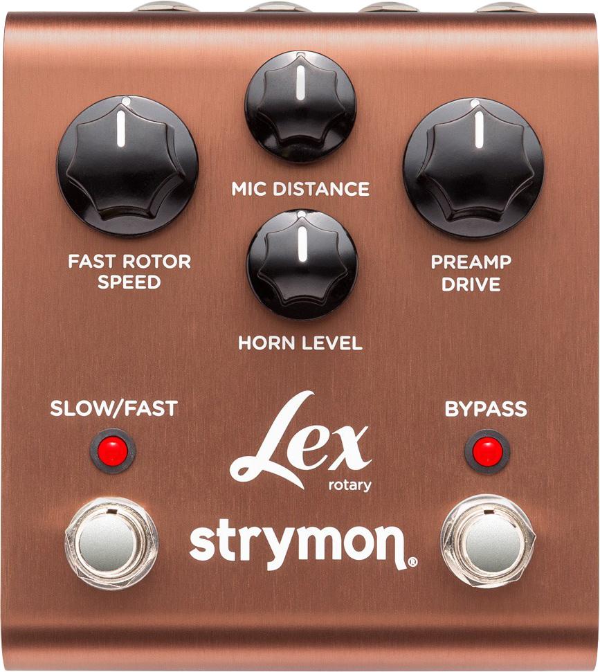 speaker pedal lex rotary strymon