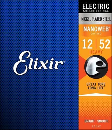 Elixir E12152 Electric Heavy Nanoweb 12-52